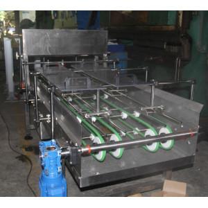 Spray egg tray shaping pu pvc belt conveyor