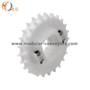 H1100 POM modular belt conveyor T16 T24 T32 sprocket