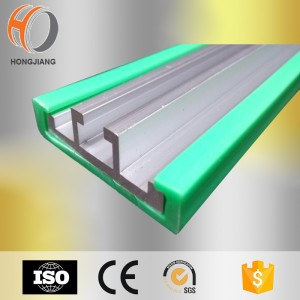 Tiras de desgaste de la guía de cadena de plástico HDPE Tiras de desgaste para cinta transportadora