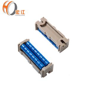 Pontes rolantes de plástico H568 para transportadores e correntes de transição de roletes com melhor preço