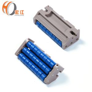 Transición de puentes de rodillos de plástico H569 de alta calidad para cadenas transportadoras