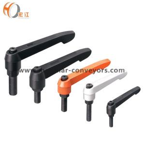 H303 Leva di serraggio regolabile a leva con leva in acciaio inossidabile