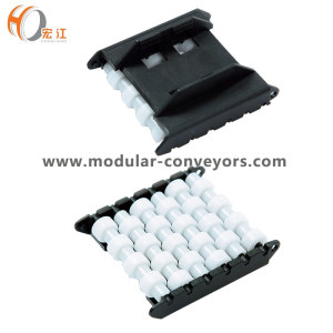 Conveyor component plastic H580-64 roller side guides