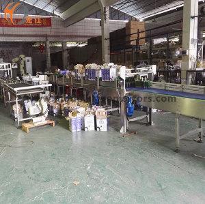 material handling roller gravity conveyor plastic belt processing conveying line for milk transmission