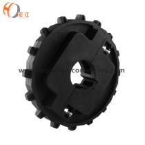 NS1600 plastic injection seperated wheel KU1600 plastic machinery whole sprocket
