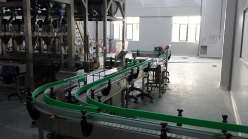 curve slat chain conveyors for food transfer food grade conveyor system
