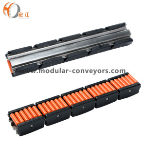Flexible Roller guide Rail H16600 conveyor component roller curved guide