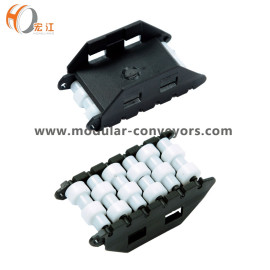 High Quality Plastic Conveyor Roller Guard Rail with Guide Rail Roller