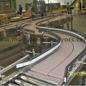 Plastic Roller modular belt conveyor