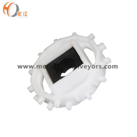 N1300 POM T12 mold injection whole sprocket plastic wheel for H1300 modular belt