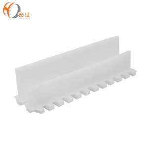 FB1300  (Flat Baffle) suitable for POM conveyor H1300 flat top belt