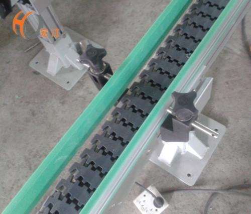 خط ناقل سلسلة من البلاستيك مرنة مكافحة ساكنة