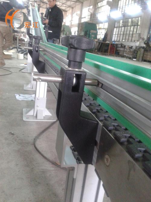 anti-static plastic flexible chain conveyor line