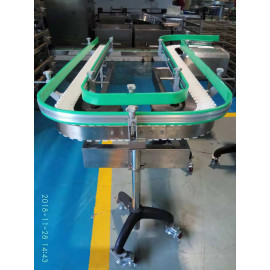 plastic flexible chain conveying systems for food, beverage, drag factory