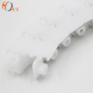 XS44 Plastic white food grade flexible flexlink chain