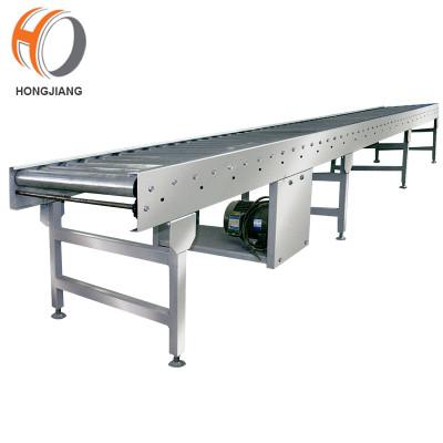Carton box transmission stainless steel roller conveyor