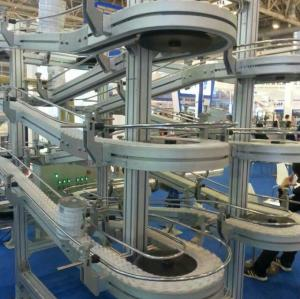 Accumulation Conveyor/Spiral/Horizontal flexible plastic chain conveyor line