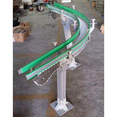 Plastsic flexlink modular chain mini inclined conveyor