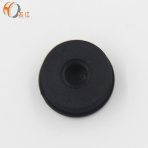 H343D round PE closing caps for pipe cover