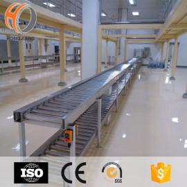 multilayer stainless steel power roller transportation machine