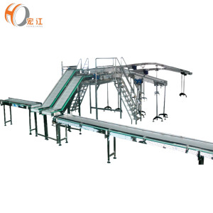 industrial machine chains food grade conveyor system