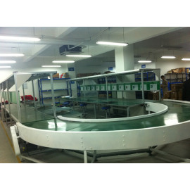 curved flexing pvc conveyor belting food grade conveyor pu belt conveyors