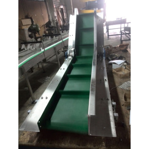 PU PVC vertical conveyors industrial conveyor system