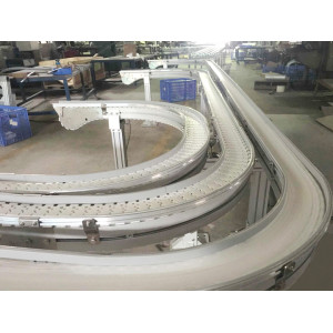 magnetic curves belting conveying equipment
