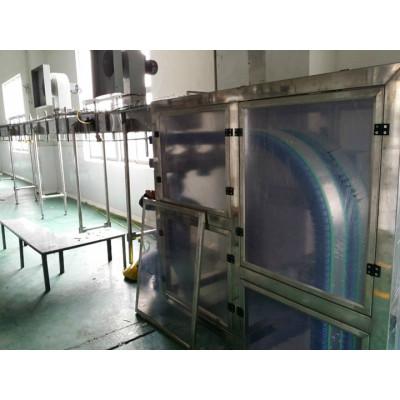 rubber gripper chain elevator conveyor for bottle transmission