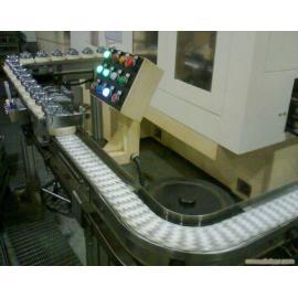 Flexlink chain conveyor with exclusive inspection gauge
