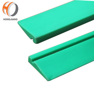 HDS471 neck guide rails for overhead transport of PET bottles