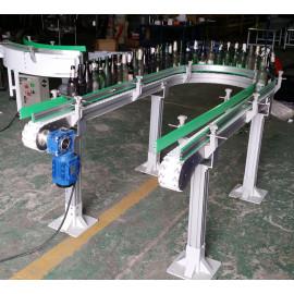 flexing POM food grade modular belt conveyors