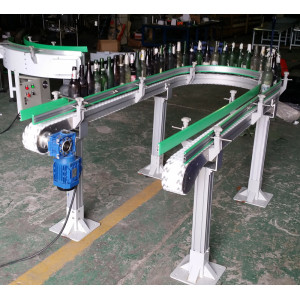 flexing POM food grade modular belt conveyors
