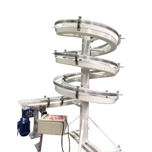 Factory customize conveyor chain belt screw spiral conveyor