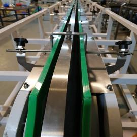 Conveyor system L shape magnetic elevator tin can magnetic conveyor