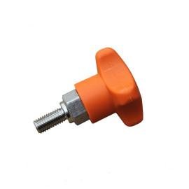 NYLON Stainless Steal H185 thread knob star bolt