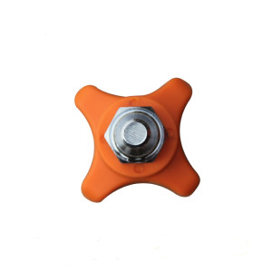 NYLON Stainless Steal H185 thread knob star bolt
