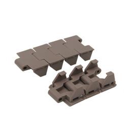 H700 chain conveyor manufacturers plastic tabletop chains for medicine drug food beverage transmission