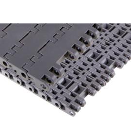 Pitch 25.4 mm Plastic Flat Top Modular slat Conveyor Belt H7705