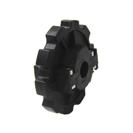 HNS880 flat chain sprockets industrial conveyor plastic chain sprocket