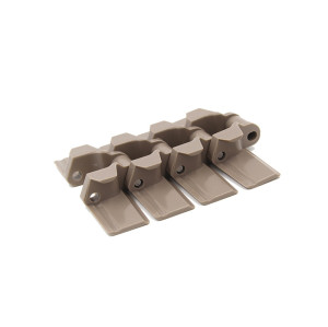 H882 Uni flat top conveyor plastic modular chain