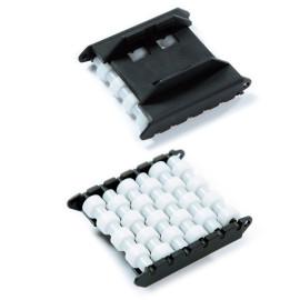 Conveyor component plastic H580-64 roller side guides