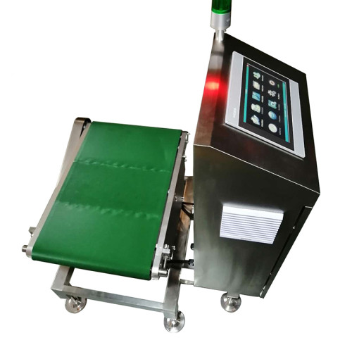 Electronic video scanning code measuring volume weight equipment