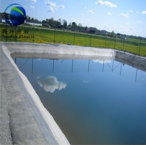 어유 농장 탱크 연못 라이너 HDPE Geomembrane