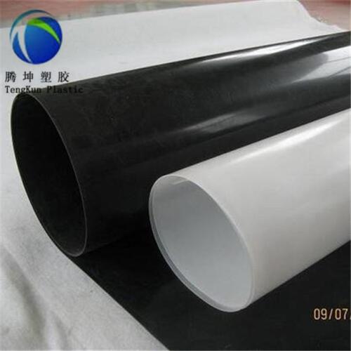 Geomembrana LDPE de 0.5-1.5 mm. Geomembrana HDPE Geomembrana HDPE de 2 mm.