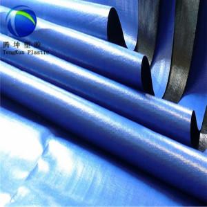 0.75-1.0 mm Günstigen Preis PVC Schwarz Blau Rollen PVC Geomembrane