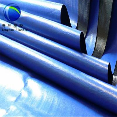 Geomembrana azul del PVC de los Rolls del azul del PVC del precio barato de 0.75-1.0 milímetros
