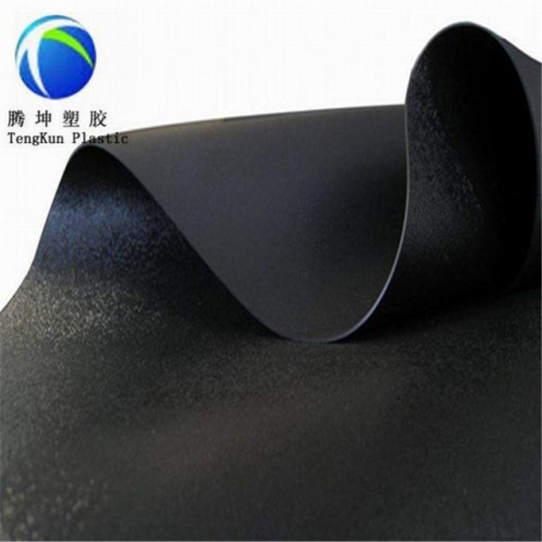 1.0 مم Landfill البلاستيك الصناعي ورقة HDPE محكم غشاء أرضي السعر