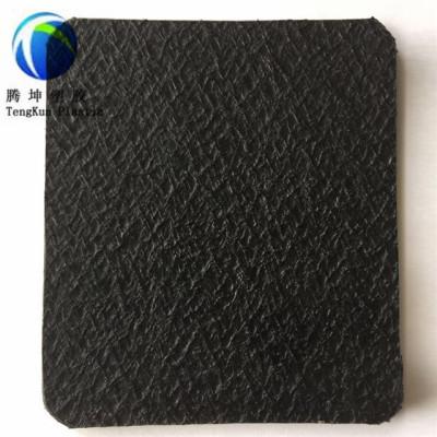 Hoja de plástico industrial de 1.0 mm Hoja de plástico industrial HDPE con textura Geomembrana Precio