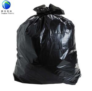 Sacos de lixo de tamanho grande resistente com impermeável